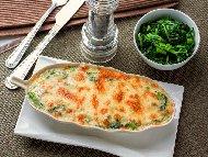 Рецепта Запеканка с картофи, спанак, яйца и сирене